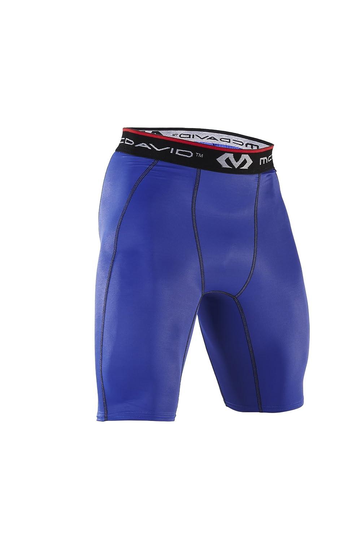 McDavid 8100, Pantalones Cortos de Compresión Blanco (Blanco), L