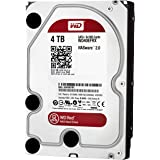 "WD Digital - Disco duro para dispositivos NAS de sobremesa de 4 TB (Intellipower, SATA a 6 Gb/s, 64 MB de caché, 3,5"") rojo"