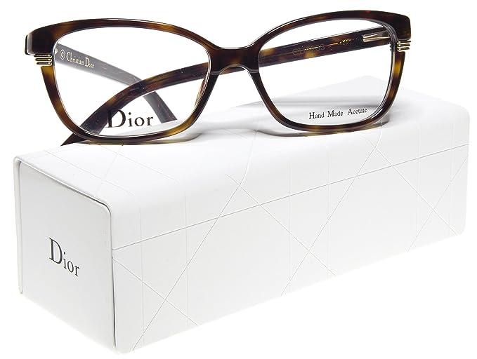 1d69c4d2260 NEW Christian Dior CD3233 086 DARK HAVANA EYEGLASSES FRAME 52-15-140 ...