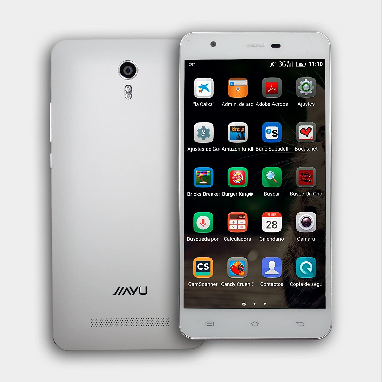 Jiayu S3s Plus Blanco 5.5 Pulgadas Full HD 4G LTE Android 5.1 ROM 16GB RAM 3GB Dual Sim Libre: Amazon.es: Electrónica