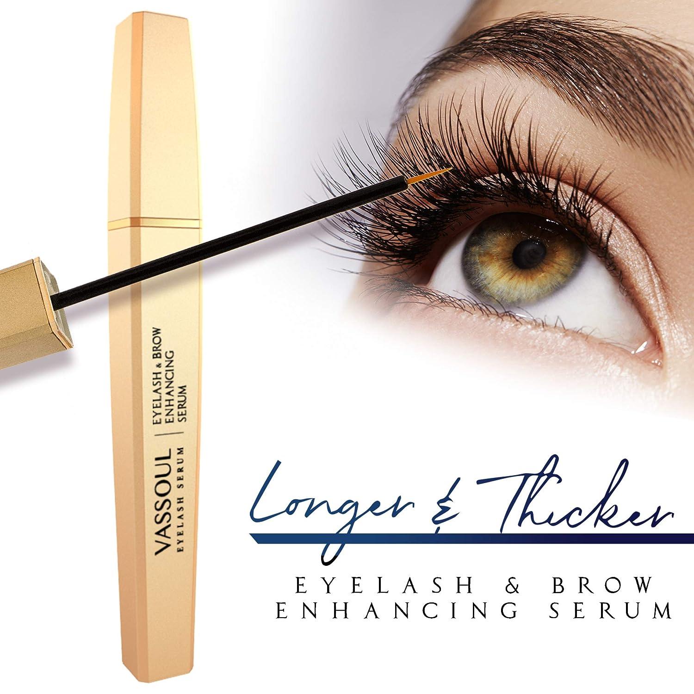 Amazon Vassoul Eyelash Growth Enhancer Brow Serum Natural