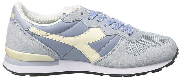 Diadora Camaro, Chaussures de Gymnastique Homme, Bleu (Blu Nebbiabianco Sospiro), 46 EU