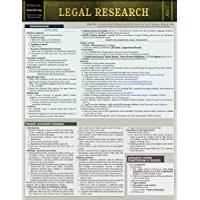 Legal Research: a QuickStudy Laminated Law Reference (English Edition)