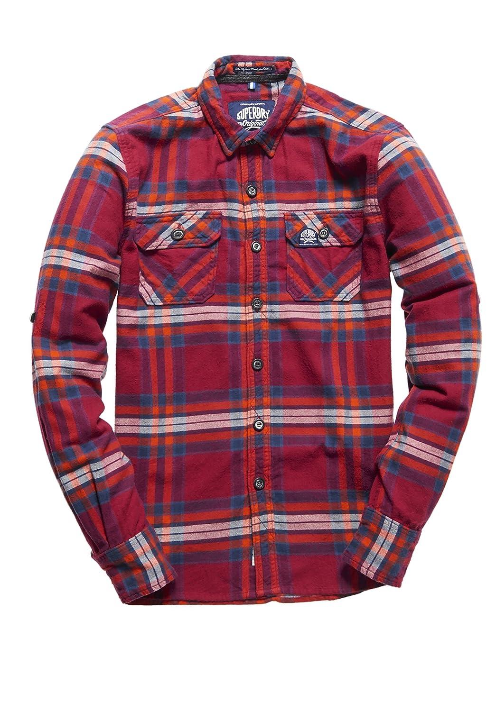 Superdry Herren Hemden Refined Lumberjack Shirt
