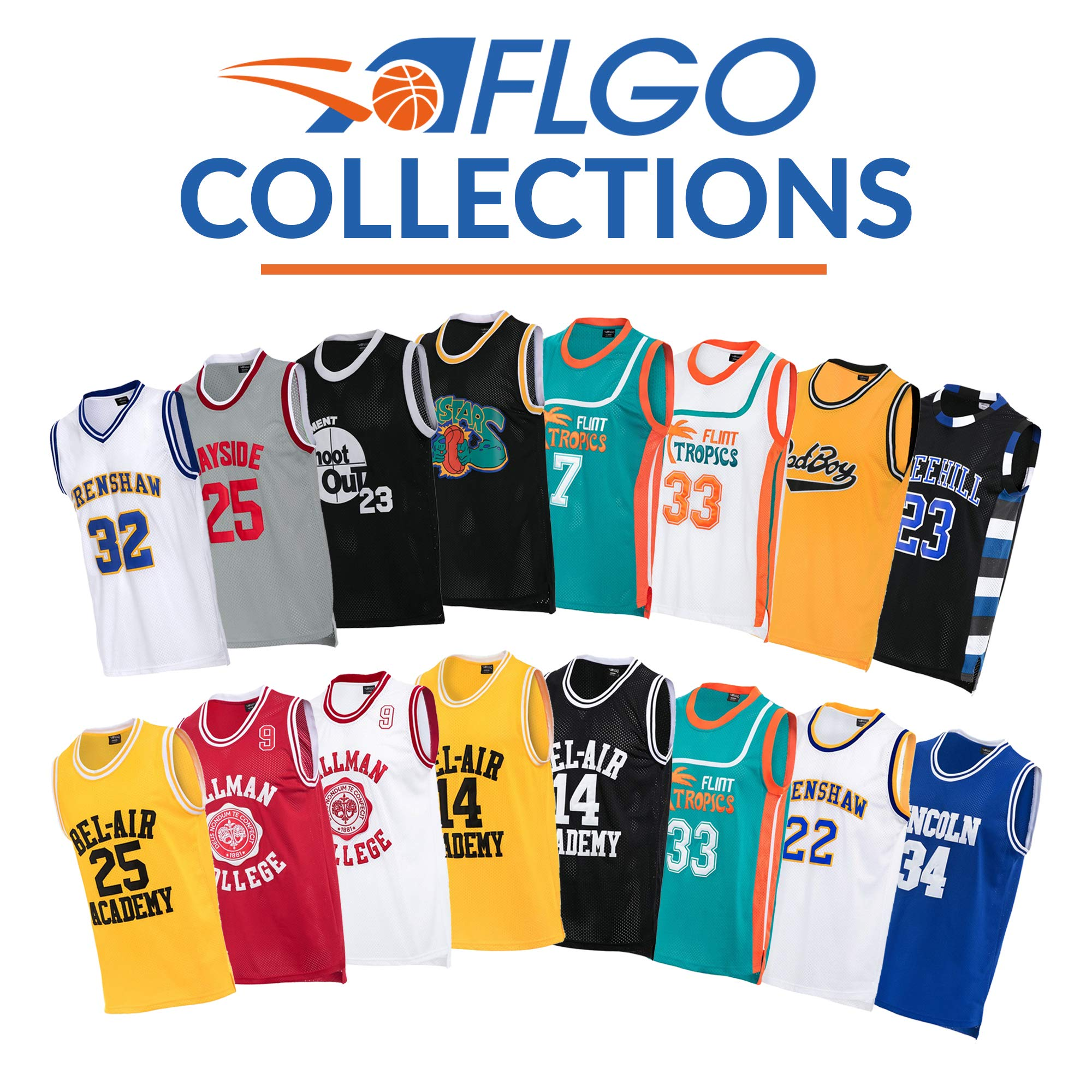 1ac0f3b06 AFLGO Jesus Shuttlesworth 34 Lincoln High School Basketball Jersey Include  Set Wristbands S-XXL (Blue