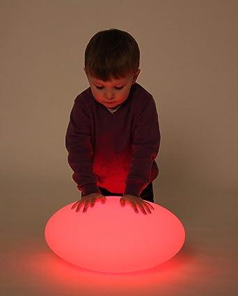 TickiT 75548 Pelota ovalada de luz sensorial: Amazon.es: Industria ...