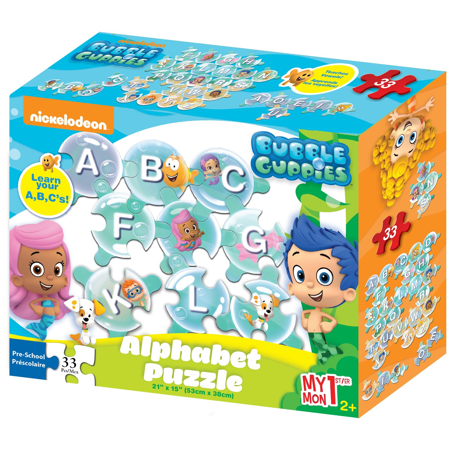 bubble guppies my 1st abc jigsaw puzzle 33 pieces game jigsaw