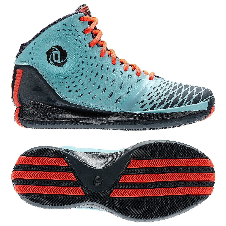f026fe32fec7 Galleon - Adidas Derrick D Rose 3.5 Zest Blue Pop Dark Onix G66477 Men s  Basketball Shoes (Size 7)