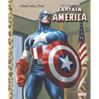 The Courageous Captain America (Marvel: Captain America) (Little Golden Book)