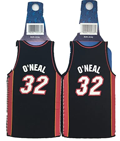 NBA Shaquille ONeal #32 Miami Heat Throwback Jersey Bottle Cooler 2-pack