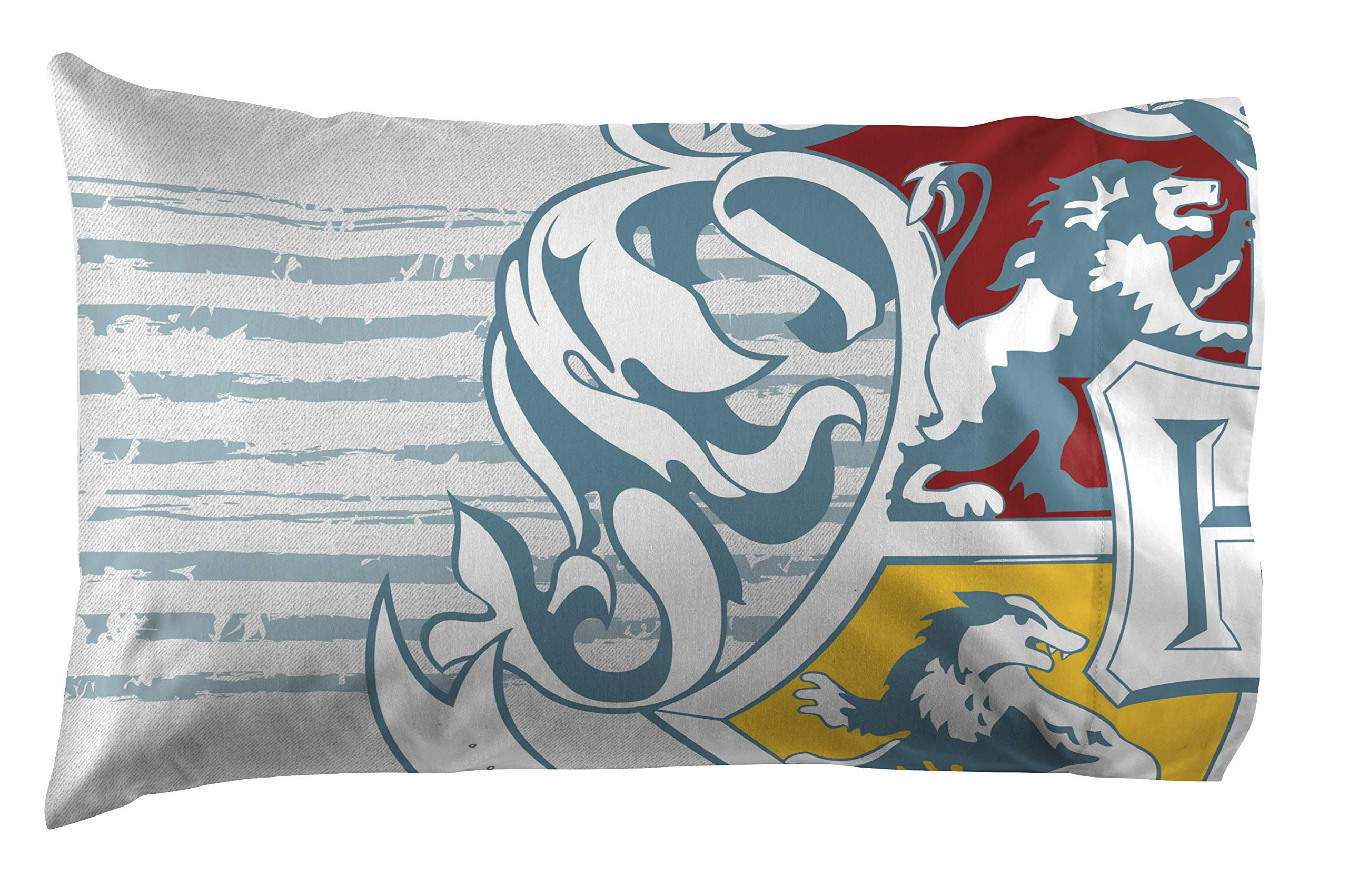 Jay Franco Harry Potter Wizardry 4 Piece Twin Bed Set - Includes Reversible Comforter & Sheet Set - Super Soft Fade Resistant Polyester Bedding (Official Warner Brothers Product) by Jay Franco (Image #5)