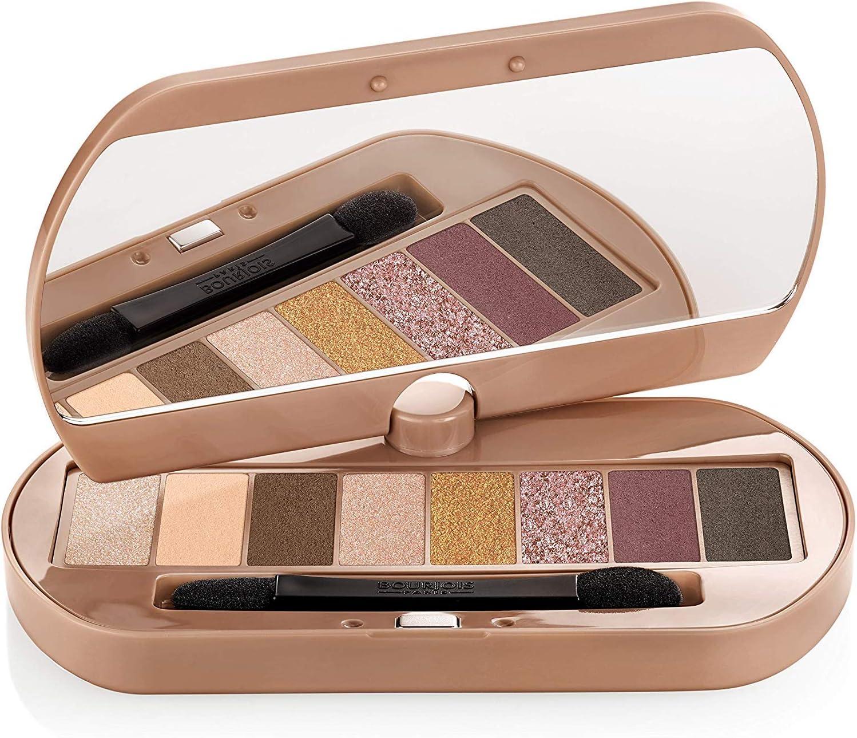 Bourjois EyeCatching Palette Sombra de ojos Tono 003 Nude (Gama nudes) - 86 g