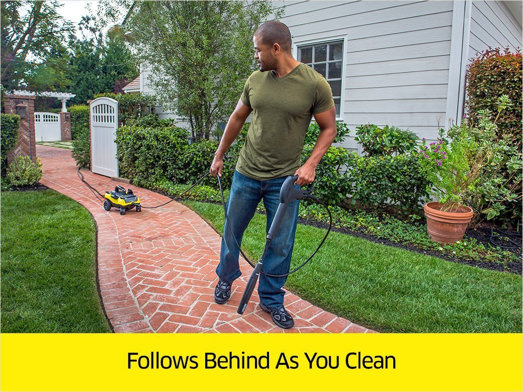 Karcher K3 Follow Me Universal 1700 PSI Pressure Washer (Certified Refurbished) by Karcher (Image #3)