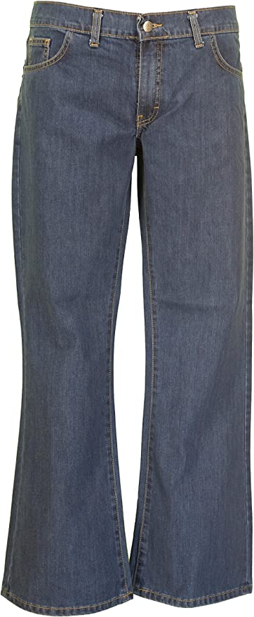 Hippie Pants, Jeans, Bell Bottoms, Palazzo, Yoga Mazeys Mens Stonewashed Bootcut Flares Jeans £29.99 AT vintagedancer.com