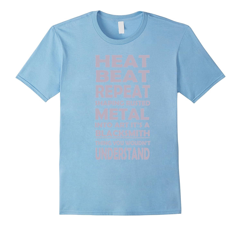 Heat Beat Repeat Blacksmith T-Shirt-FL