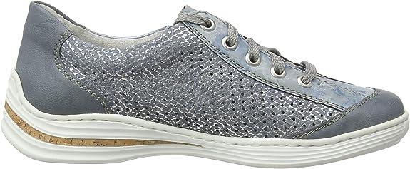 Rieker Fr/ühjahr//Sommer M35g6 Sneakers Basses Femme