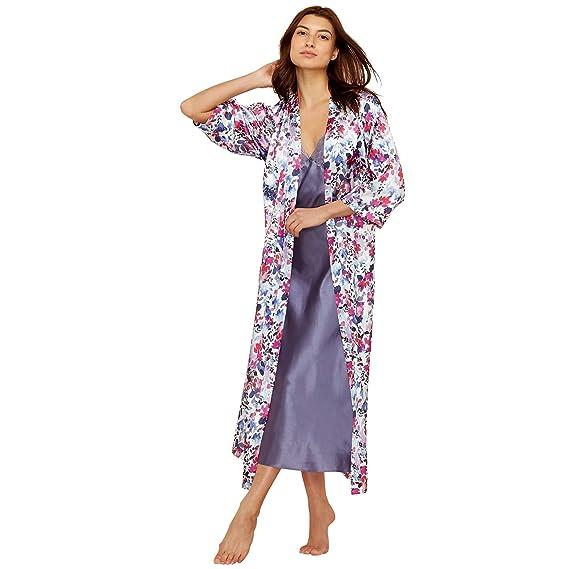 Debenhams The Collection Womens Purple Floral Print Satin \'Meadow ...