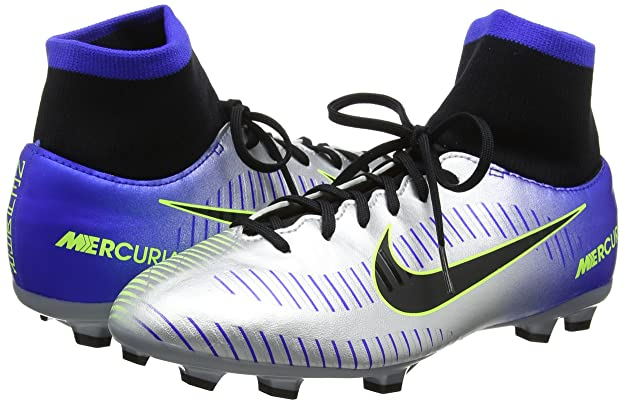 size 40 34524 47b7a Amazon.com  Nike Junior Neymar Mercurial Victory VI DF FG Cleats  Soccer