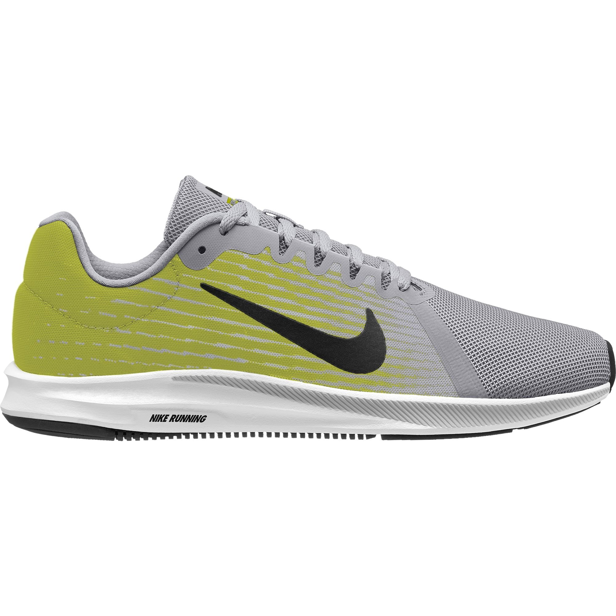 official photos f03ae 9f306 Galleon - Nike Men s Downshifter 8 Running Shoe, Wolf Grey Black-Volt-White,  9