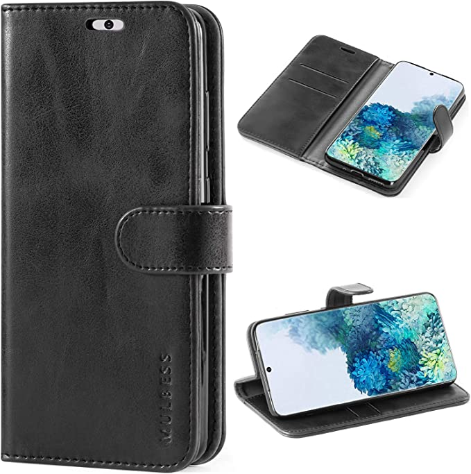 Mulbess Funda Samsung Galaxy A51 con Tapa Magn/ética Carcasa para Samsung Galaxy A51 Case Libro Caso Cubierta Vintage Marr/ón Vintage de Billetera Cuero de la PU
