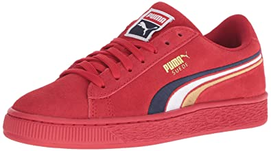 e4fb8ac0e444d6 Puma Suede Classic Multicolor Emboss Kids Sneaker  Buy Online at Low Prices  in India - Amazon.in