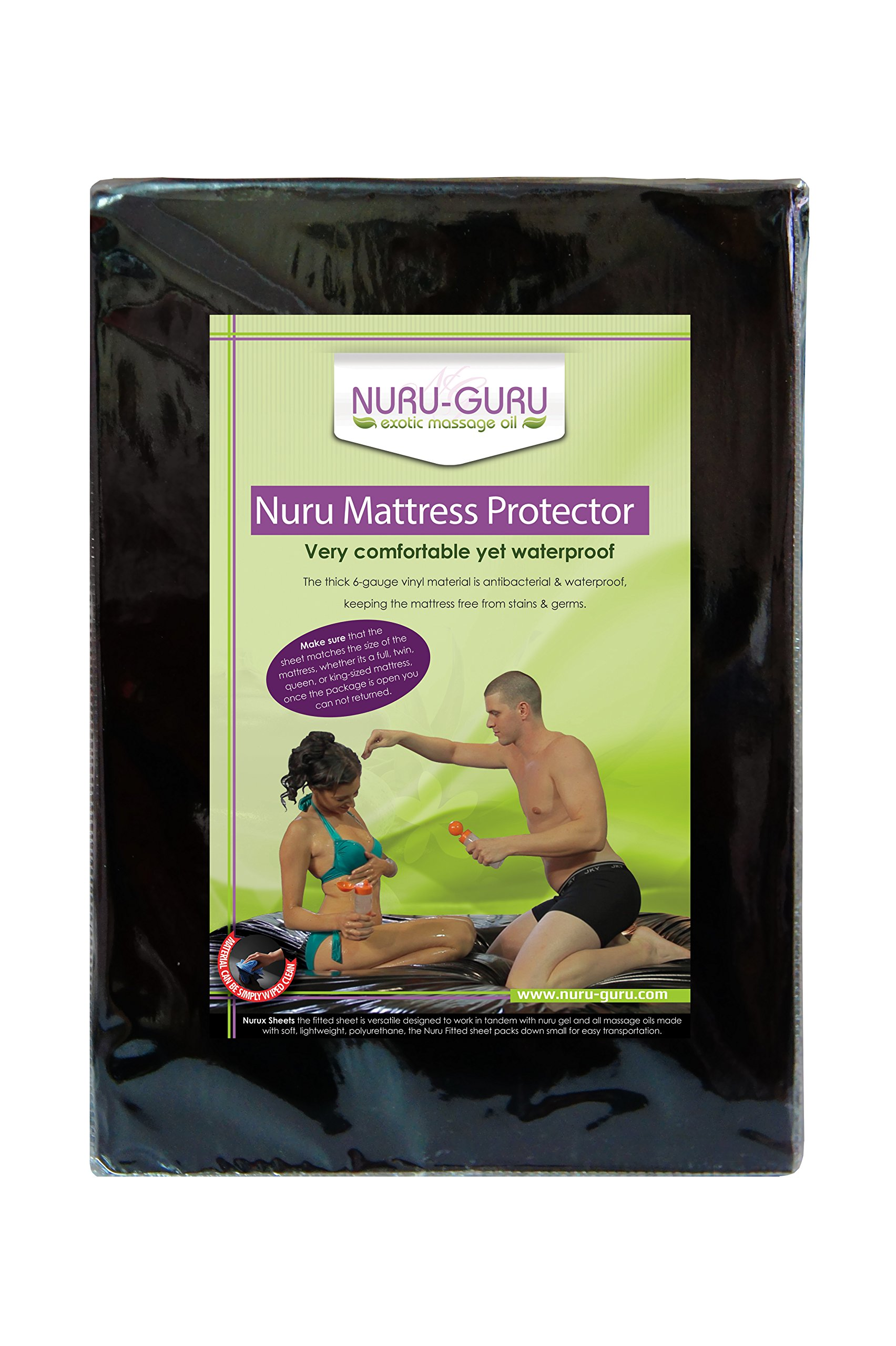 Nuru Mattress Protector Nuru Sheet Waterproof(california King)