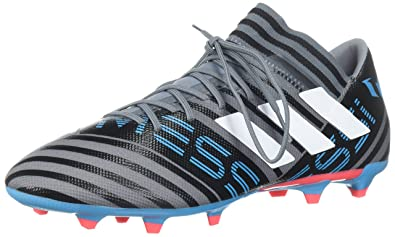 new product 3f92a 3fe43 adidas Men s Nemeziz Messi 17.3 FG Soccer Shoe, Grey White core Black,