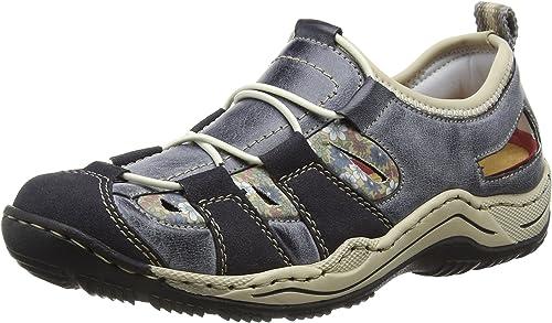 Slipper NEU (blau) blau L0561 14 Schuhe Rieker