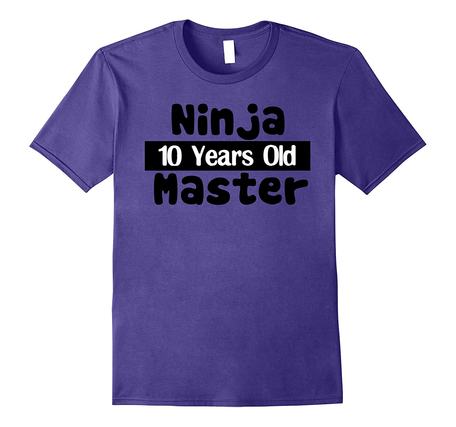 10 Year Old Ninja Master Birthday Gift Idea for kids T-shirt-Art
