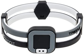 Colantotte Trion Z Duo Loop Wristband Black Grey Medium