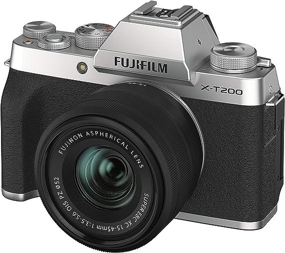 Fujifilm X T200 System Camera With Xc15 45mmf3 5 5 6 Camera Photo