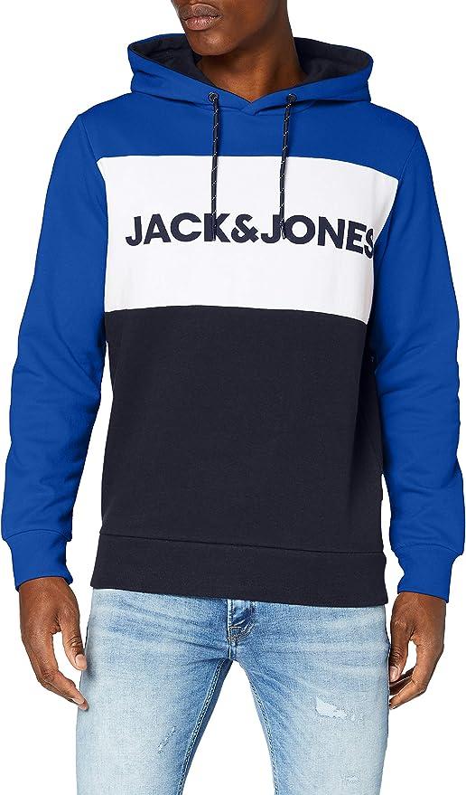 TALLA M. Jack & Jones Jortylers Sweat Hood STS Sudadera con Capucha para Hombre