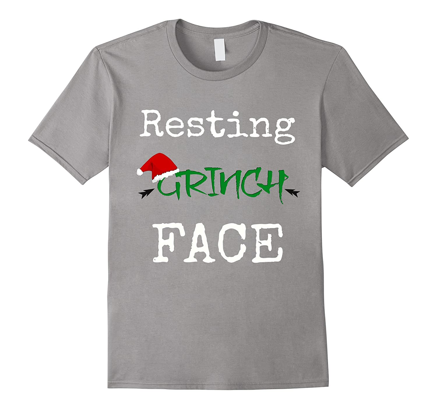 Christmas Gifts Funny Resting Grinch Face T Shirt-ANZ - Anztshirt