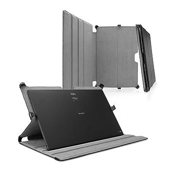 Microsoft Surface Pro 4 Case, BoxWave® [Funda de piel ...