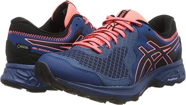 ASICS Gel-Sonoma 4 G-TX, Zapatillas de Running para Mujer: Amazon ...