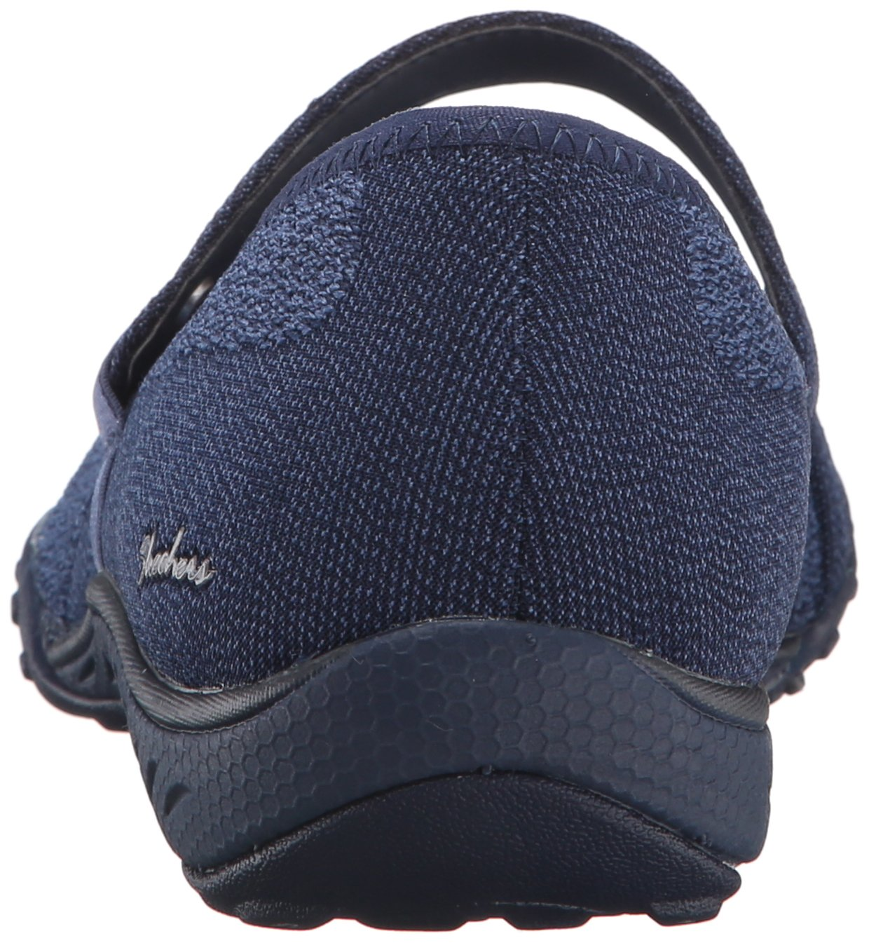 Skechers Sport Women's Breathe Easy Lovestory Mary Jane Flat B01B64BRT6 6.5 B(M) US Navy