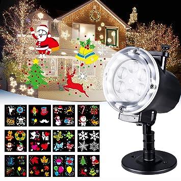 Luces de Proyector, LED Lámpara de Proyección de Navidad ...