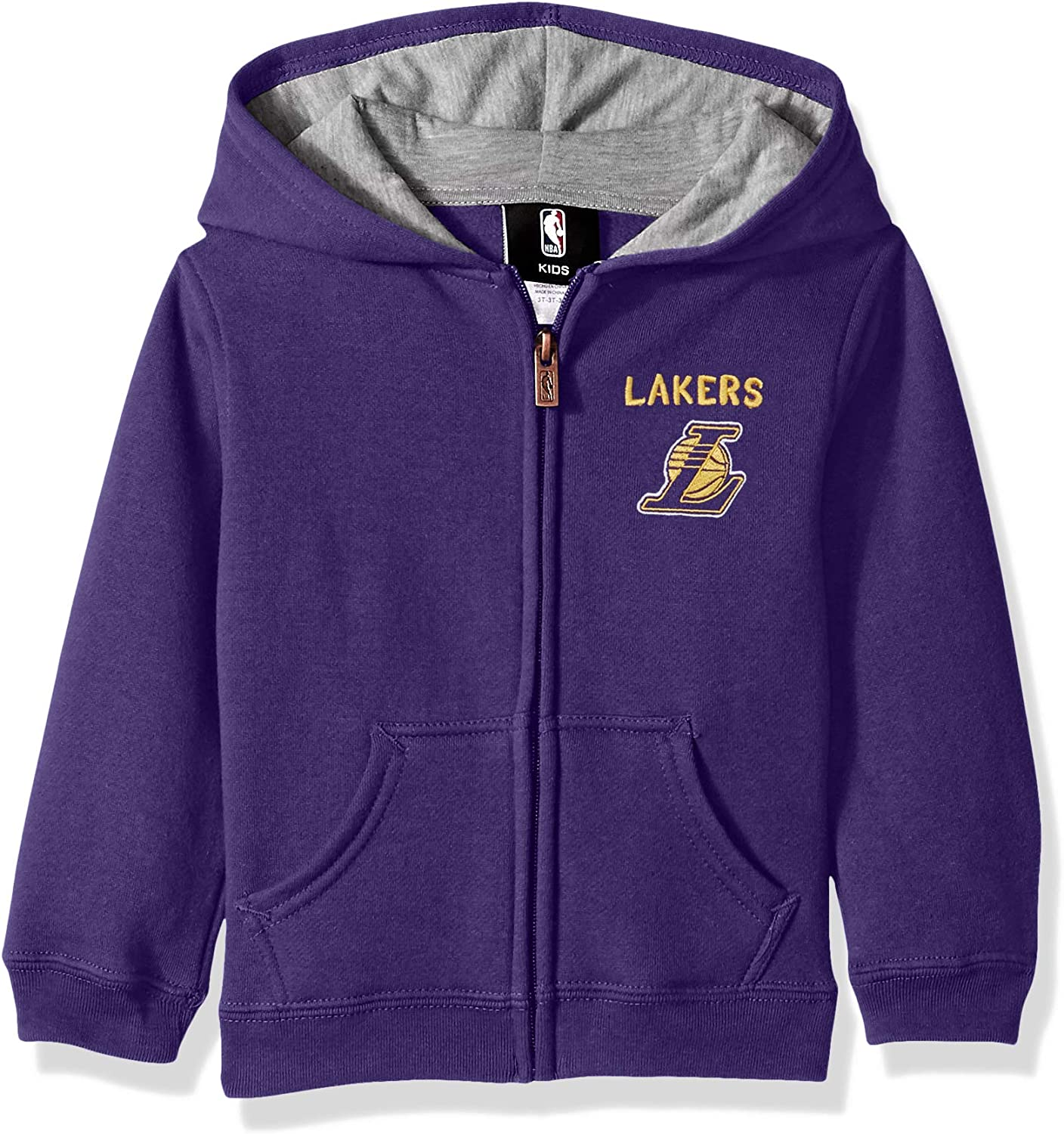 Outerstuff NBA boys Pledge Full Zip Hoodie