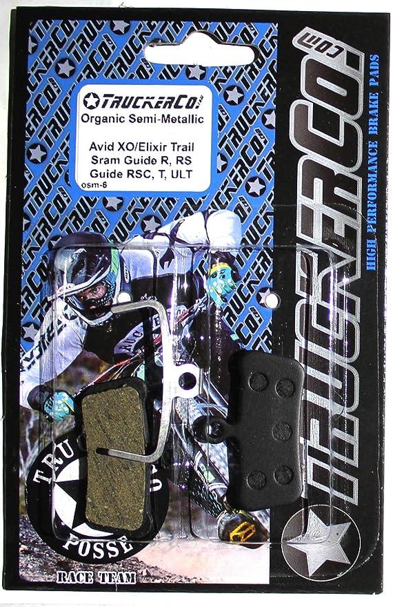 Amazon.com: Organic semi-metallic SRAM Avid Elixir Trail, X0 ...