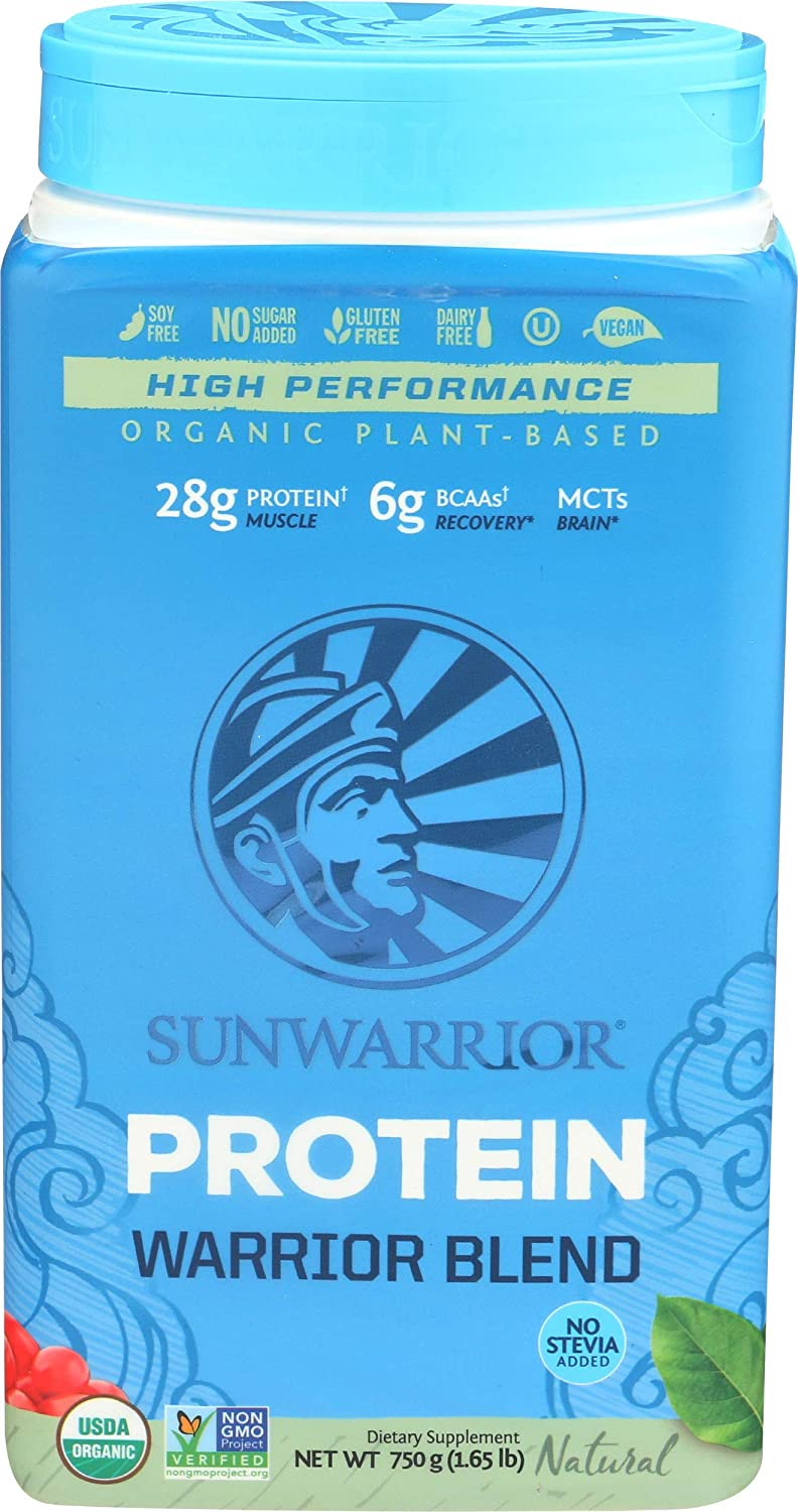 Sunwarrior Warrior Blend Natural - 750 gr