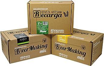 Pack 3 recargas de materias primas para elaborar cerveza en casa. Recetas Pilsen Ale Ecológica, La Sagra Belgian White Trigo & Arriaca IPA: Amazon.es: Alimentación y bebidas