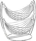 Impulse International Stainless Steel 2 Tier Fruit & Vegetables Basket