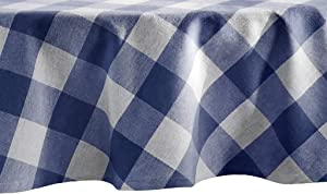 Elrene Home Fashions Farmhouse Living Buffalo Check Tablecloth, 70