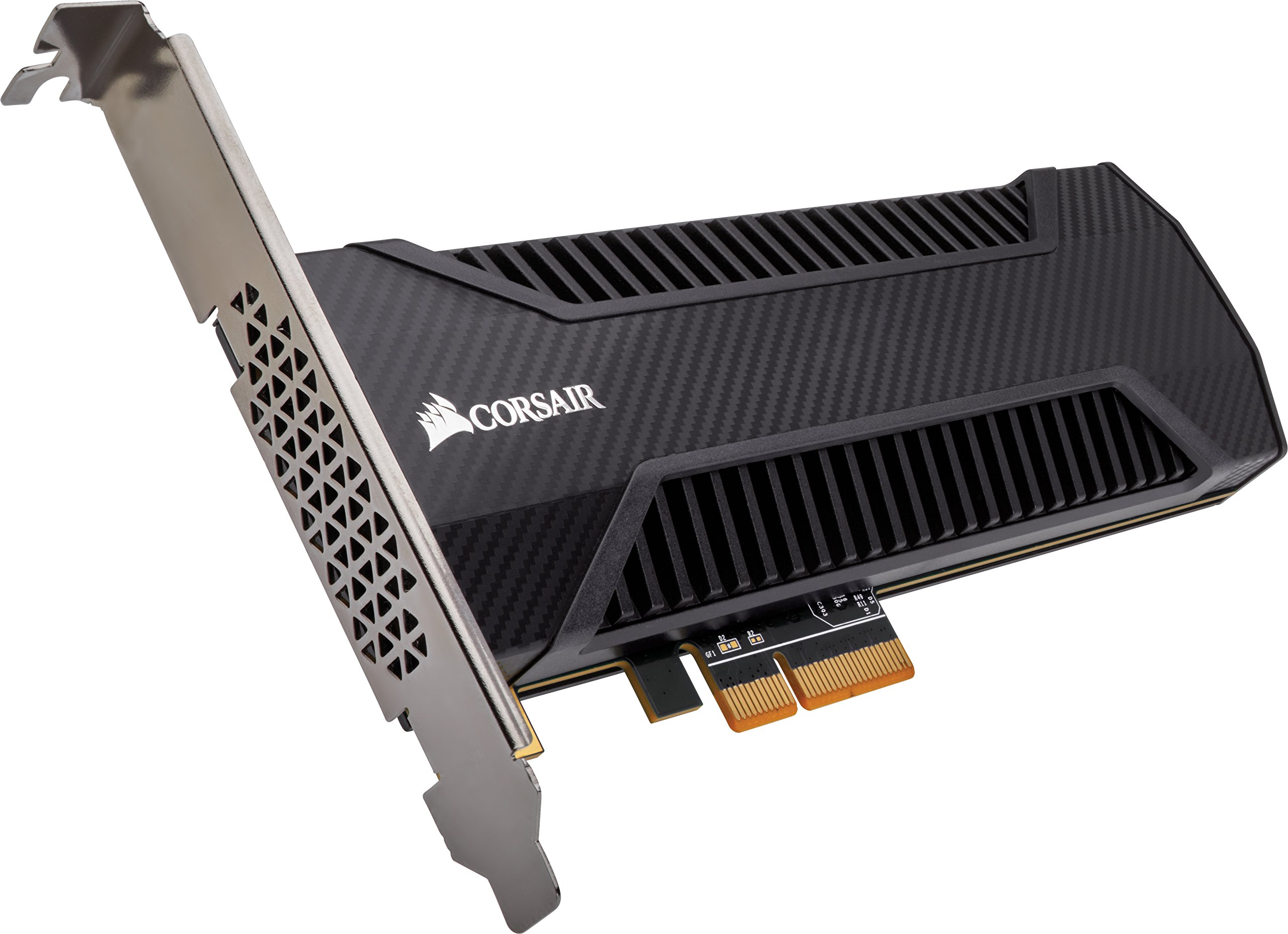 Corsair Neutron Series NX500 400GB Add in Card NVMe PCIe 3.0 x 4 SSD with Heatsink by Corsair