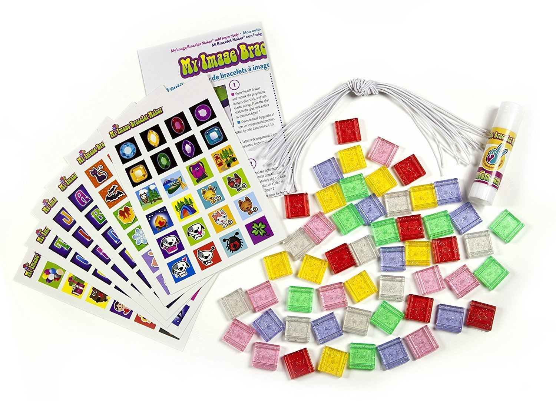 300 Items Choose Friendship Bundle My Image Bracelet Maker Kit and Refill Kit Jewelry Maker Kit for Kids
