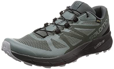 975f6568a2c8 Salomon Sense Ride GTX Invisible Fit Trail Running Shoes Mens  Buy Online  at Low Prices in India - Amazon.in