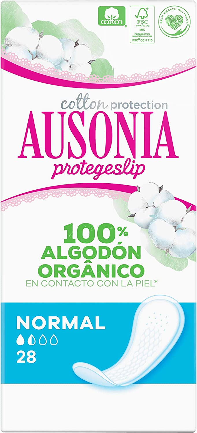 Ausonia Normal Protegeslips Super Absorbent 28x: Amazon.es: Salud y cuidado personal