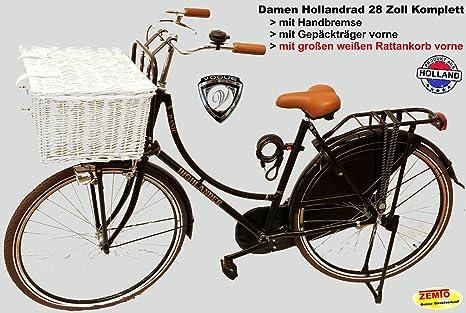 Bicicleta holandesa para mujer 28 pulgadas Completo con grandes de ...