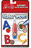 Melissa & Doug On the Go Water Wow! Alphabet Activity Book With 4 Practice Boards and Water Pen