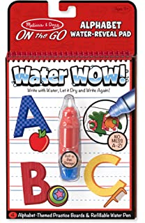 Melissa And Doug Water Wow Activity Book Alphabet